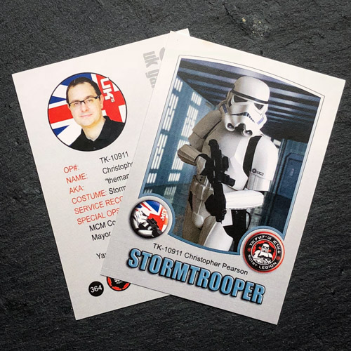 UK Garrison Trading Card 364