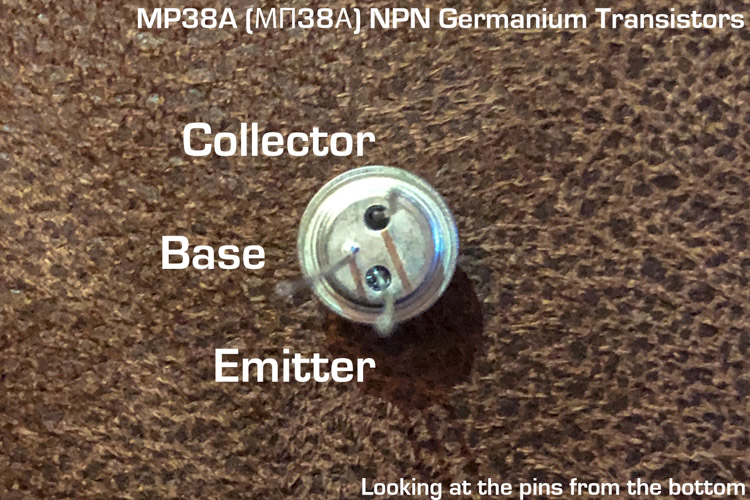 MP38A transistor pin out