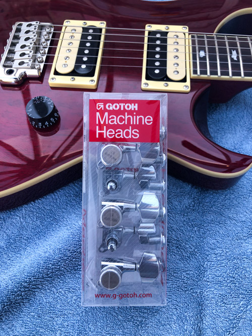 Gotoh locking tuners